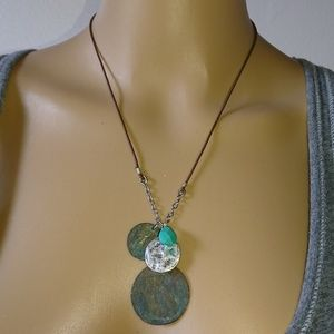 Coldwater Creek Turquoise Southwest Style Necklace